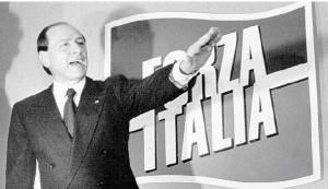 berlusconi-forza-italia-saluto-romano