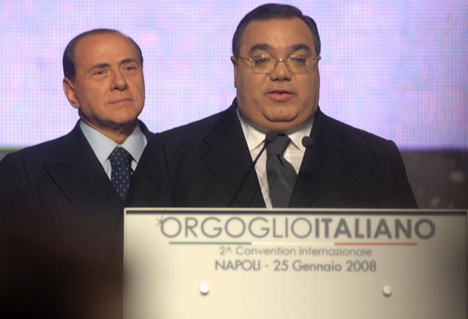 Silvio Berlusconi Sergio De Gregorio