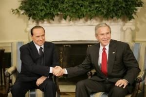 President_George_W._Bush_shakes_hands_with_Italian_Prime_Minister_Silvio_Berlusconi
