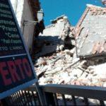 Castelluccio di-Norcia, Perugia, after the earthquake (photo Repubblica)